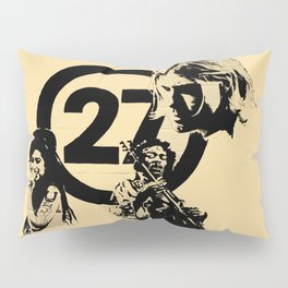 27 club Pillow Sham