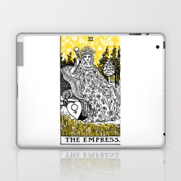 A Floral Tarot Print - The Empress Laptop & iPad Skin