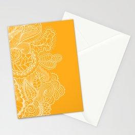 Marigold Mehndi Stationery Cards