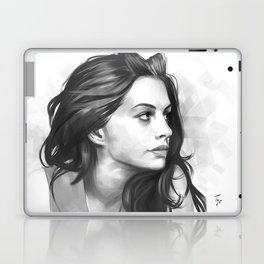 Anne Hathaway minimalist illustration Laptop & iPad Skin