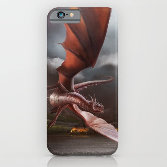Smaug Burns Lake-Town iPhone & iPod Case