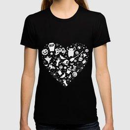 Heart of halloween T-shirt