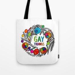 Gay Tidings Tote Bag