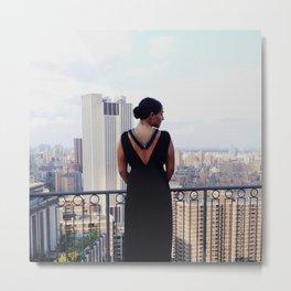Eda Lourdes Accessories F/W 2014 NYC Photoshoot Metal Print