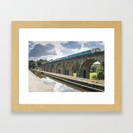 Chirk Aqueduct & Viaduct Framed Art Print