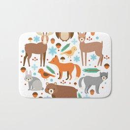 Cartoon Cute Animals Bath Mat