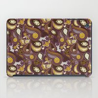 potter iPad Cases featuring Potter Paisley by Kate Moore