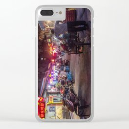 Shanghai Streets Clear iPhone Case