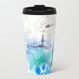 Oil drilling Travel Mug