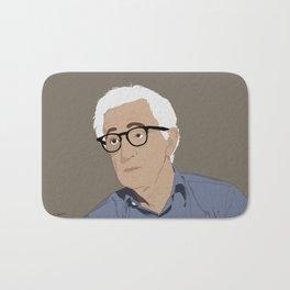 Woody Allen Cartoon Bath Mat