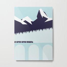 The Alps Metal Print