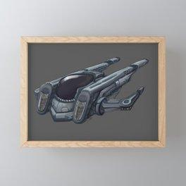 Fighter 20 Framed Mini Art Print