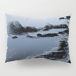 Beach In Blue Pillow Sham