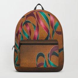 Entwining Ribbons Backpack