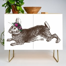 The Rabbit and Roses Credenza