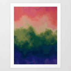 Ombre Hombre Art Print