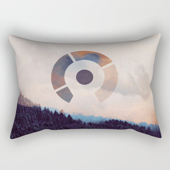 After Effect Rectangular Pillow