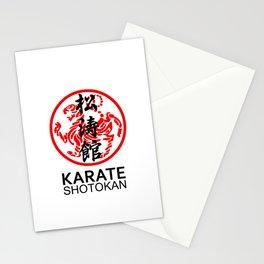 Shotokan Karate Symbol and Kanji Stationery Cards