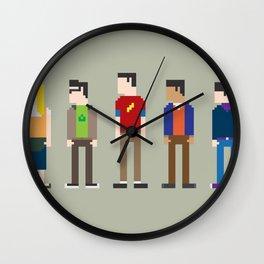 The Big Bang Theory 8-Bit Wall Clock