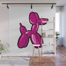 Balloon Dog Wall Mural