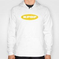 kpop Hoodies featuring Blue KPOP by Factorialist