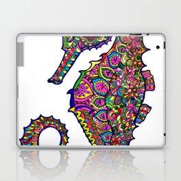 Seahorse colourful mandala Laptop & iPad Skin