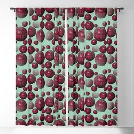 Jamun - Bubble beads J of Alphabet collection Blackout Curtain