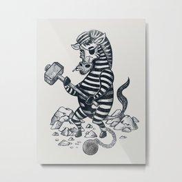Natures Prisoner Metal Print