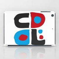 code iPad Cases featuring CODE by Apolo Arauz