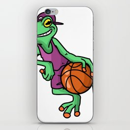 Basketball Sport Basket Ball Gift iPhone Skin