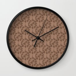 Fall's Forest Pattern V2 Wall Clock