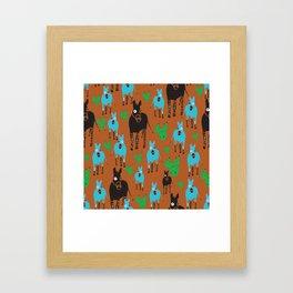 Desert Life One Framed Art Print