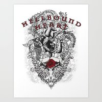 Hellbound Heart Art Print