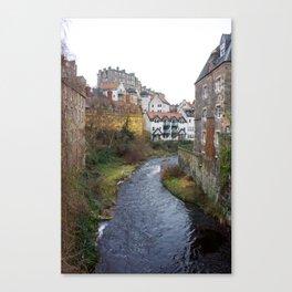 Water of Leith Edinburgh 3 Canvas Print