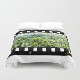 Sunny Green Scenery Duvet Cover