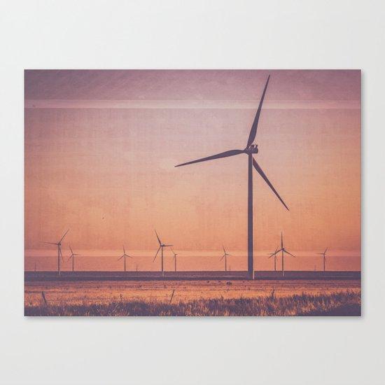 Southwest Windmills Route 66 Canvas Print
