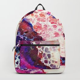A Modern Leopard Print Abstract Backpack