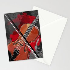 Music !  Stationery Cards