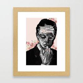 Blooming Jeff Goldblum Framed Art Print