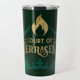 Court of Terrasen Book Quote Travel Mug