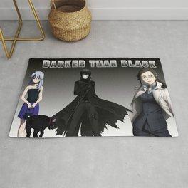 Darker than Black Rug