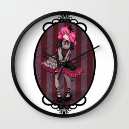 Gothic Lolita Wall Clock