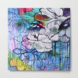 Tattoo     #Society6   #decor  #buyart  #painting #art #artist #drawing #artwork #paint #contemporar Metal Print