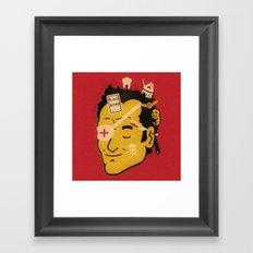 Quentin Framed Art Print