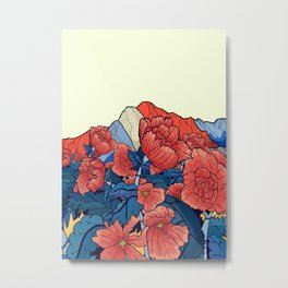 Mountain flowers Metal Print