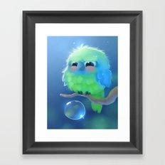 Mini Parrot Framed Art Print