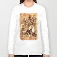 medieval Long Sleeve T-shirts featuring Medieval by TheMagicWarrior