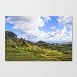 Quiraing View Canvas Print