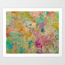 A Natural Embrace Art Print