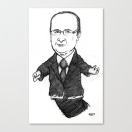 Ennemi De La Finance Invisible Canvas Print